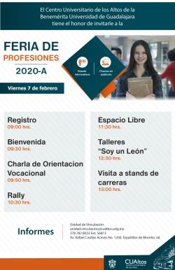 Feria de Profesiones 2020-A