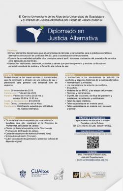 Diplomado en Justicia Alternativa