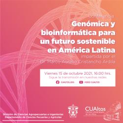 Genómica y bioinformática para un futuro sostenible en América Latina