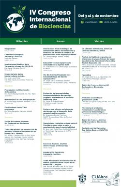 Congreso Internacional de Biociencias