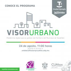 Conoce el programa Visor Urbano