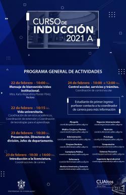 Programa Curso de Inducción 2021-A