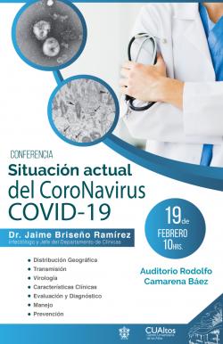 Conferencia Coronavirus. 19 de febrero 2020
