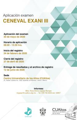 CENEVAL EXANI III