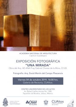 """Exposición fotográfica """"Una mirada"""""""