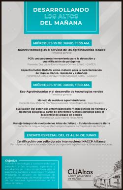 "Los Altos del mañana<p><span style=""font-size: 12px;"">Sigue la transmisión en vivo a través de las redes sociales:</span></p> <ul> <li> <h3> <span style=""font-size: 12px;"">REGÍSTRATE EN</span>&nbsp;<a href=""https://www.youtube.com/channel/UCNfUyGXJEqoj8UBTFW9j4eg"" target=""_blank"">YOUTUBE</a></h3> </li> <li> <h3> <a href=""https://www.facebook.com/cualtos.udg"" target=""_blank"">FACEBOOK</a></h3> </li> </ul>"