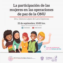 La participación de las mujeres en las operaciones de paz de la ONU