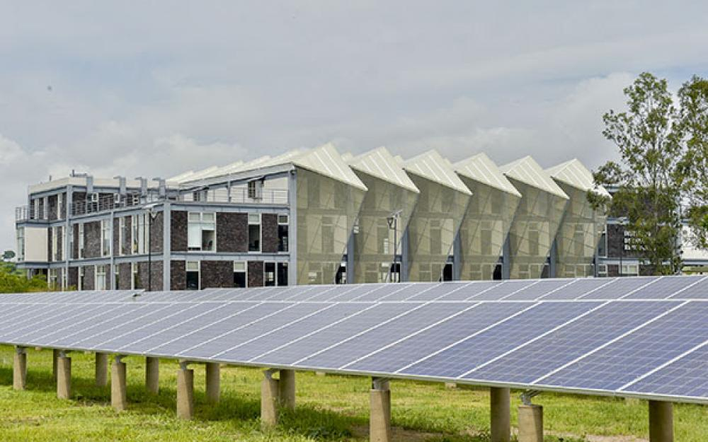 Huerto solar del Centro Universitario de Tonalá