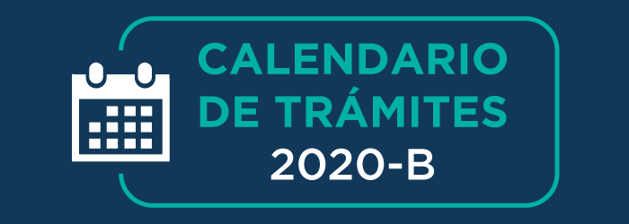 Calendario de Trámites 2020-B