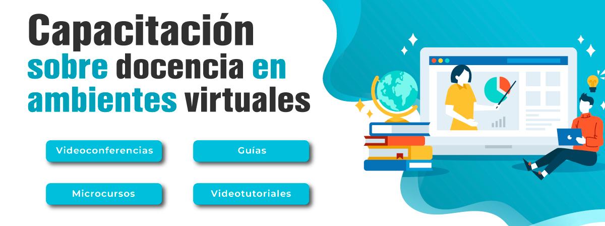Capacitación sobre docencia en ambientes virtuales
