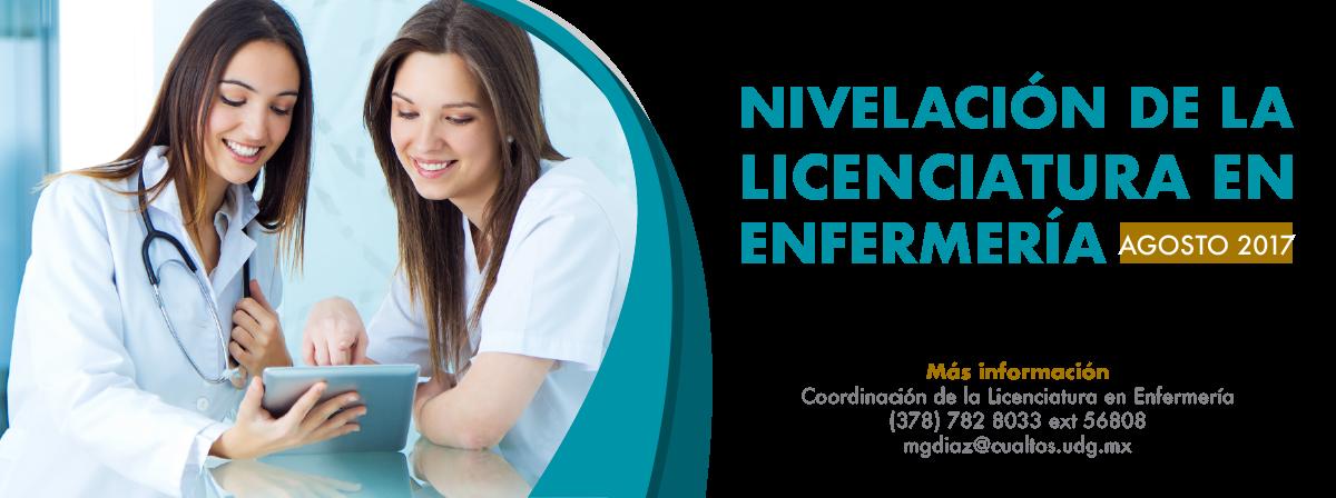 Nivelación de la Licenciatura en Enfermería