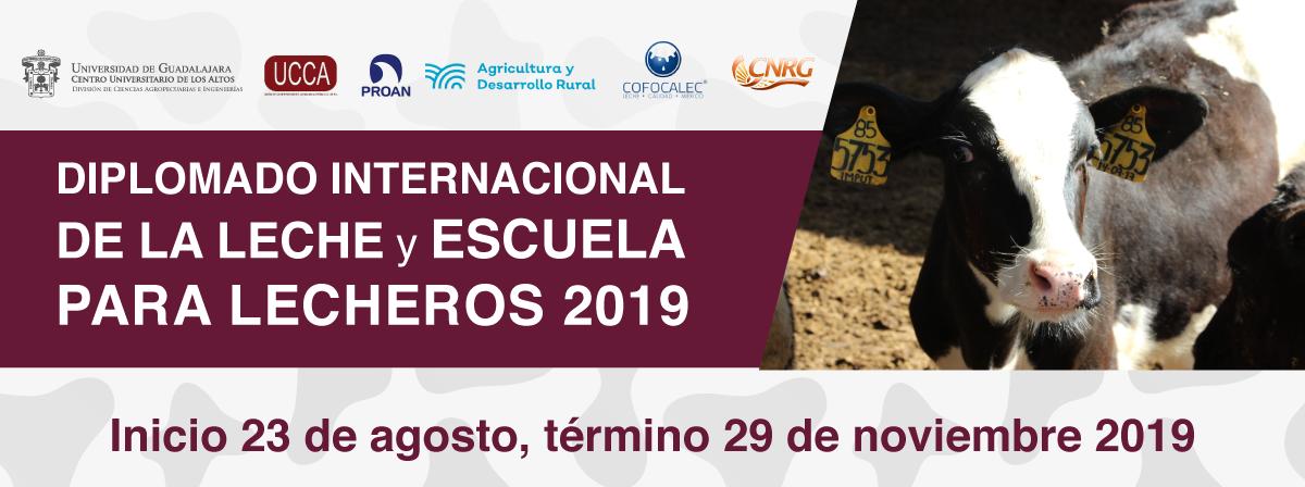 Diplomado Internacional de la Leche y Escuela para Lecheros 2019, consulta las bases